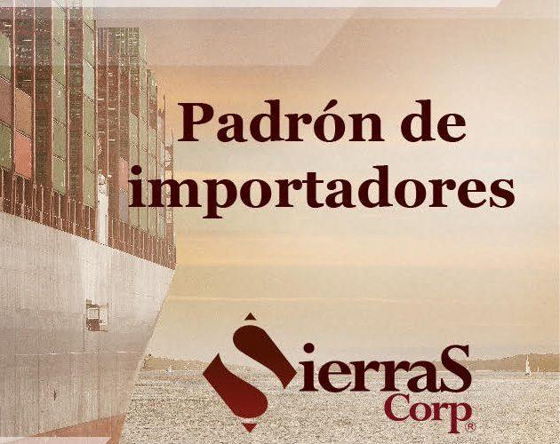 Padrón de importadores